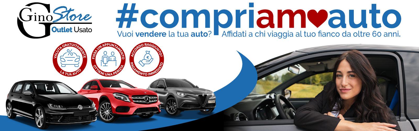 Ginostore #compriamoauto
